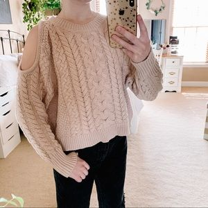 AE Cold Shoulder Sweater